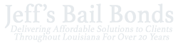 Jeffs Bail Bonds - Proudly serving Orleans, Jefferson, St. Tammany, Livingston, Slidell, Plaquemines, St. Bernard, St. John, Ascension, Tangipahoa & beyond.